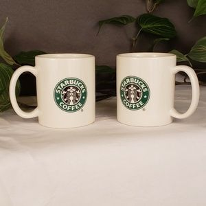 Set of 2 Starbucks 12 oz coffee mugs